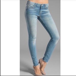 MOTHER The Looker Love Drunk Cowboy Skinny Jeans
